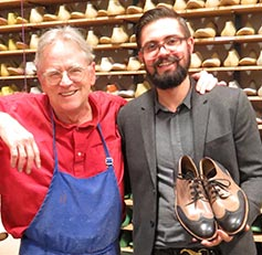 Mens Advanced Shoemaking class