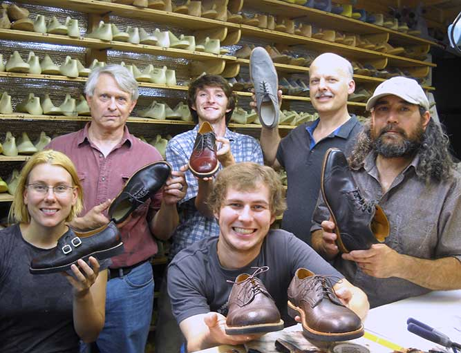 Men's Shoemaking Class
